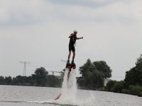 Go ahead and practice flyboard