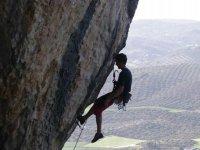 攀岩垂直墙
