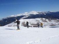 指导Bavaresa标志雪鞋走雪雪鞋旅游团