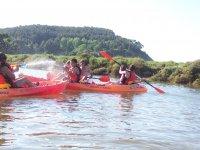 4x4的体验享受皮艇在比斯开
