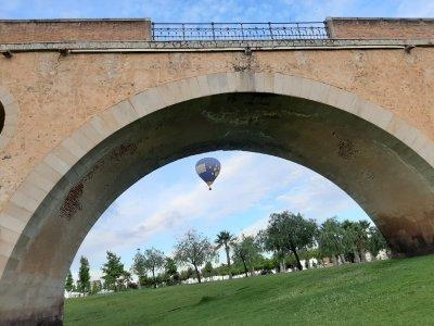 Vuelo en globo privado para familias en Badajoz