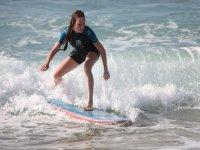 La fuerza de la ola.