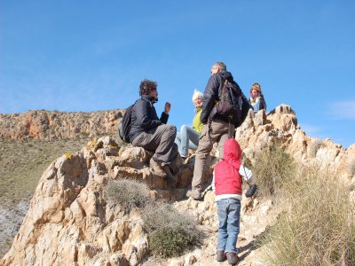 Volcanic Hiking in Nijar, Children