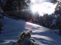 Espectaculares paisajes nevados