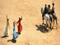 Bailando con los caballos