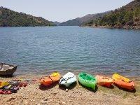 Material para navegar en kayak