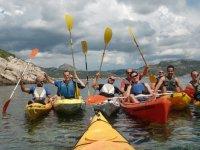 grupo en canoas