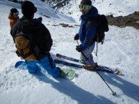 开始滑雪日