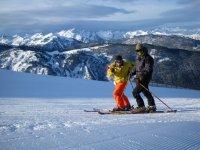 越野滑雪者