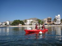 Kayak en Mallorca