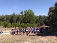Activity for groups of young people in nature