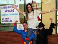 Superheroes in the Urban Camp