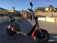 Electric scooter in Cordoba street
