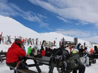 Rest in the Alto Campoo station