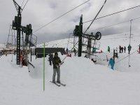 Ski lifts in Alto Campoo