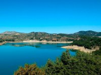 Reservoir on the outskirts of Malaga