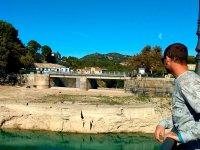 Visitando el pantano en Malaga