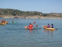 Navegando en piragua en El Vado