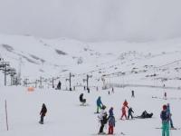 Cantabrian ski slope