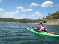 El Vado swamp canoeing
