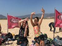 Diversión en la playa de Tarifa