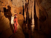 在洞穴的画廊