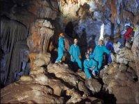 在洞穴中的洞穴群