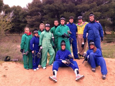Action Paintball y Aventura Despedidas de Soltero