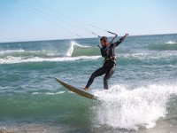 Practice kitesurf