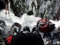 低下头用雪鞋雪鞋