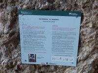 Cartel informativo La Teresina