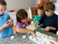 Cocinando bombones