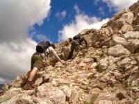 Escalando el Pedraforca