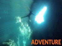 nella grotta della luce