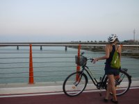 Returning from El Saler by bike