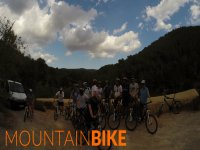 Mountain bike en Ibiza