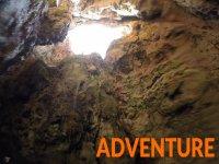Accesso alla grotta della luce