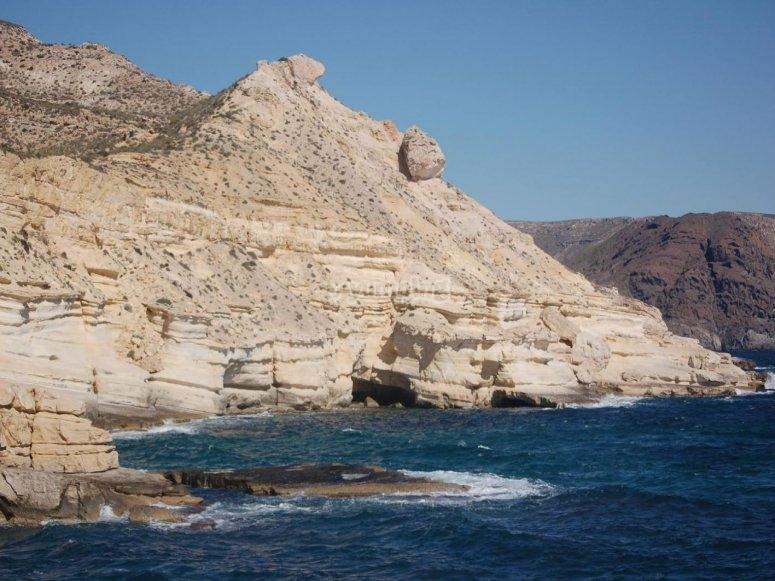 Percorsi sulla costa mediterranea