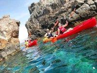 Kayak trip along the Cadiz coast