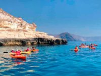 Kayak trip on the beach of Tarifa
