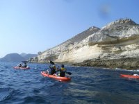 Kayak route through Tarifa beach