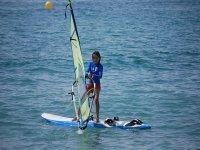 Practicar windsurf en Ibiza