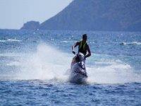 High speed in the coast of Santa Eulalia
