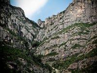 登山在蒙特塞拉特的标识