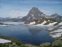 A lake in the Pyrenees