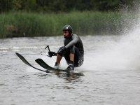 Water skiing acrobatics