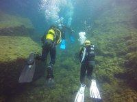 与朋友的潜水路线