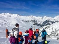 Clases de esqui infantil