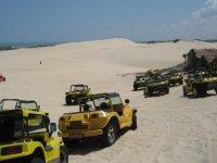 buggy por la arena