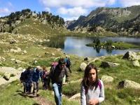 Caminando entre los lagos del Valle de Aran